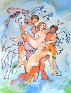 De ontvoering van de dochters van Leucippus
