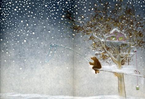 Het sneeuwt prijzen voor De boomhut